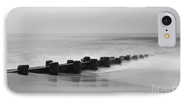 Misty Beach Morning IPhone Case by Mark Miller