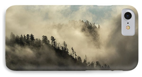 Misty Cloud Filled Valley From Morton IPhone Case