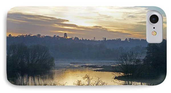 Misty Evening Light IPhone Case by Gill Billington