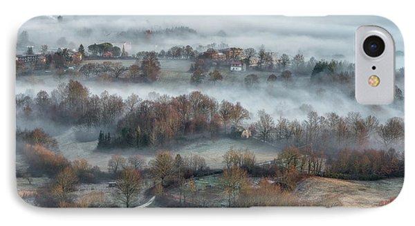 Misty Fields IPhone Case