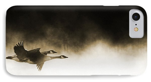 Misty Flight IPhone Case by Tim Gainey