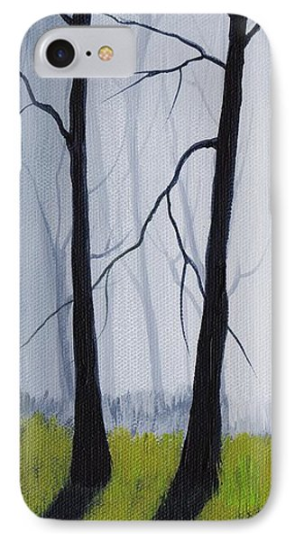 Misty Forest IPhone Case by Anastasiya Malakhova