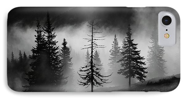 Misty Forest IPhone Case