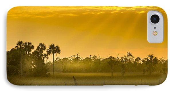 Misty Glade IPhone Case by Marvin Spates