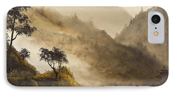 Misty Hills IPhone Case