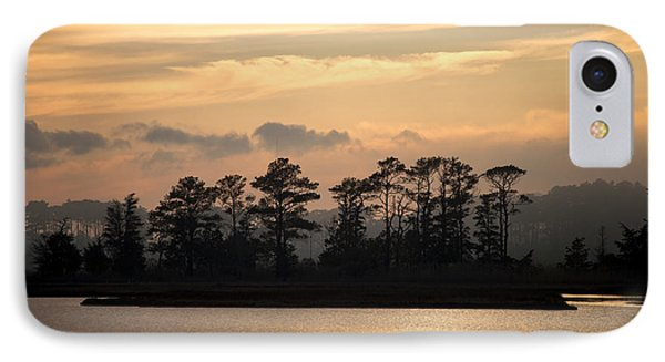 Misty Island Of Assawoman Bay IPhone Case by Bill Swartwout