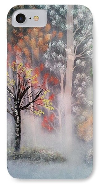 Misty Magic Forest Phone Case by Lee Bowman