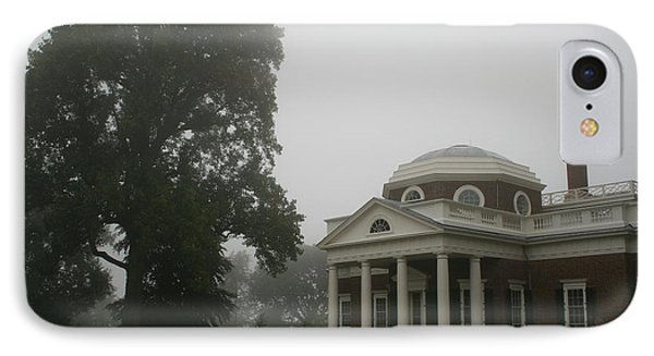 Misty Morning At Monticello IPhone Case by Christiane Schulze Art And Photography
