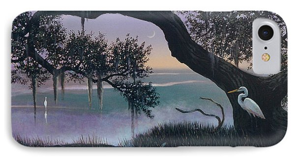 Misty Morning At Seabrook IPhone Case by Blue Sky