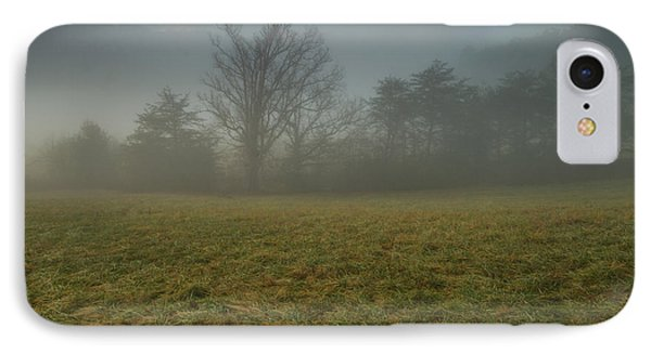 IPhone Case featuring the photograph Misty Morning - Cades Cove by Doug McPherson