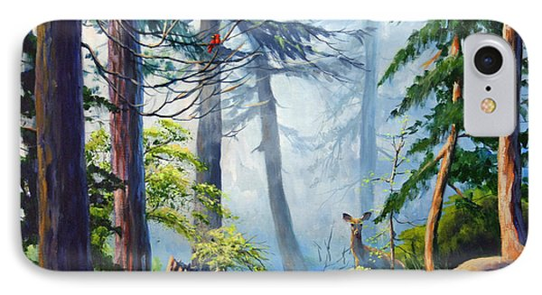 Misty Morning Phone Case by CB Hume