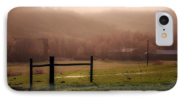 Misty Morning IPhone Case by Eric Rundle