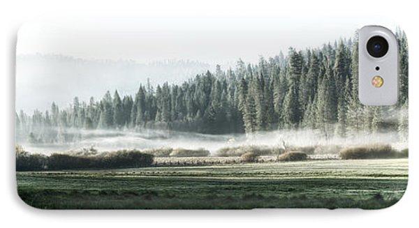 Misty Morning In Yosemite Phone Case by Jane Rix