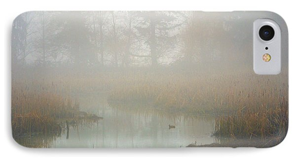 IPhone Case featuring the photograph Misty Morning by Jordan Blackstone