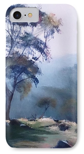 Misty Morning  IPhone Case by Kathy  Karas