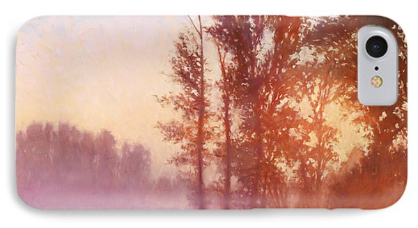 Misty Morning Memory Phone Case by Michael Orwick