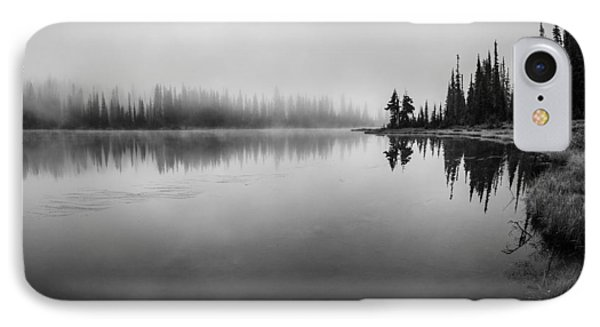 Misty Morning On Reflection Lake Phone Case by Brian Xavier