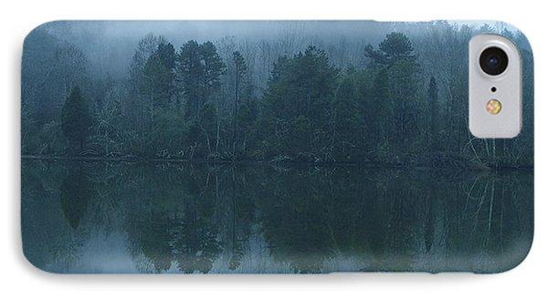 Misty Morning On The Clinch River IPhone Case by Rita Mueller