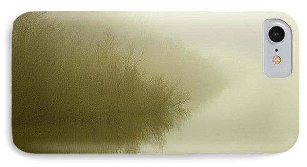 Misty Morning Reflection. Phone Case by Clare Bambers
