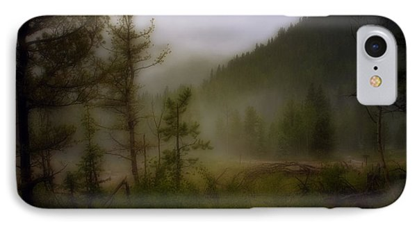 IPhone Case featuring the photograph Misty Mountain by Ellen Heaverlo