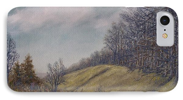 IPhone Case featuring the painting Misty Mountain Valley by Kathleen McDermott