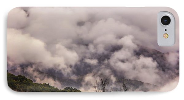 IPhone Case featuring the photograph Misty Mountains by Wallaroo Images