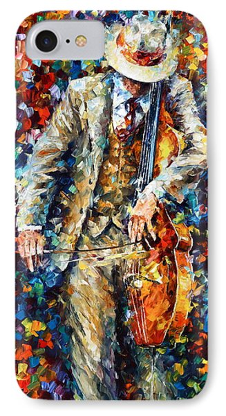 Misty Music 2nd Version IPhone Case by Leonid Afremov