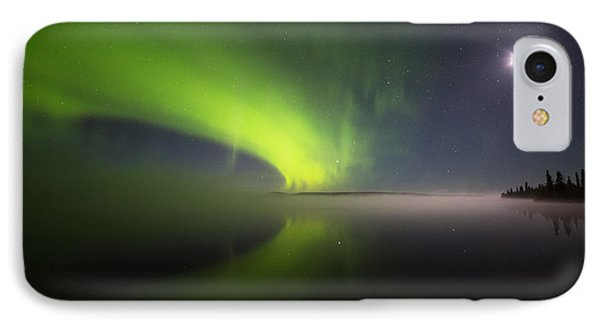 Misty Night Auroras IPhone Case