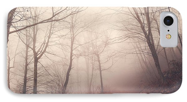 Misty Path IPhone Case by Maria Robinson