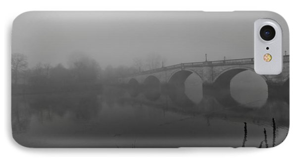 Misty Richmond Bridge Phone Case by Maj Seda