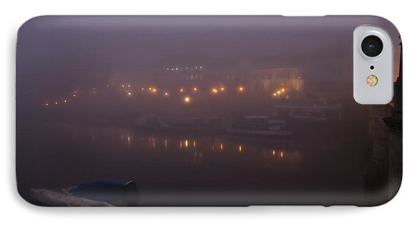 Misty Richmond Upon Thames IPhone Case by Maj Seda