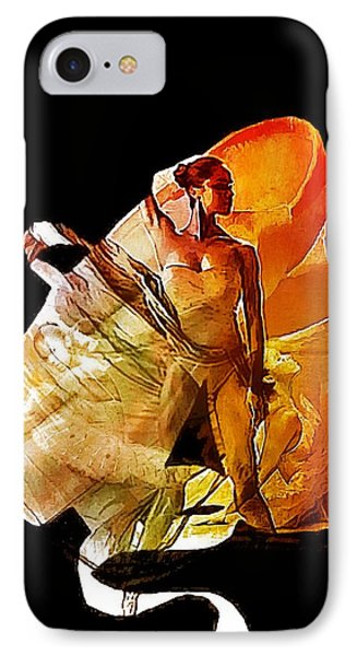 Misty Shoes IPhone Case by Lynda Payton