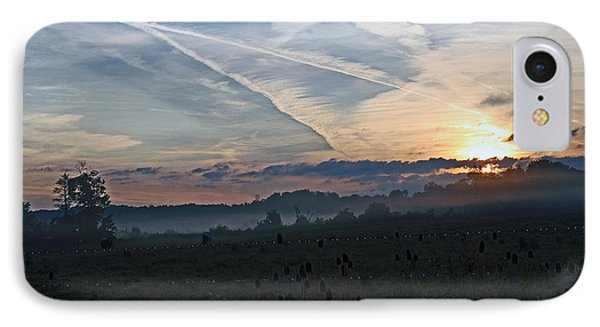 Misty Sunrise IPhone Case