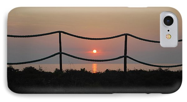 Misty Sunset 1 IPhone Case by George Katechis