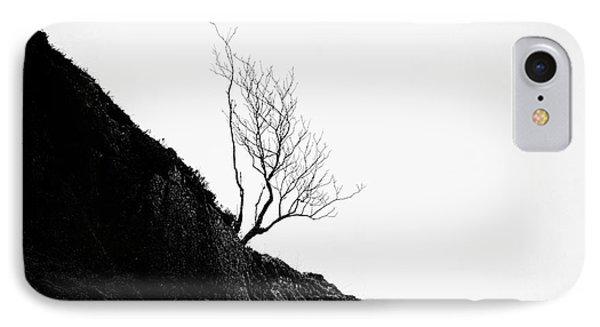 Misty Tree Glen Etive Phone Case by John Farnan