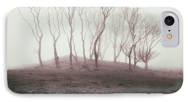 Misty Trees IPhone Case by Dave Bowman