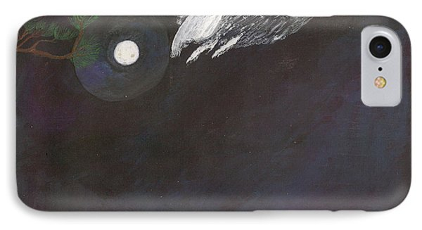IPhone Case featuring the painting Misty Twinight by Kim Pate