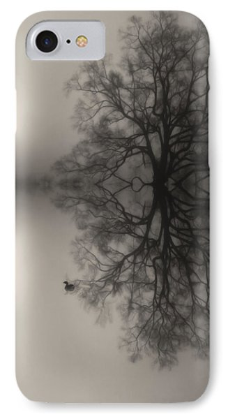 Misty Water Oak IPhone Case by Deborah Smith