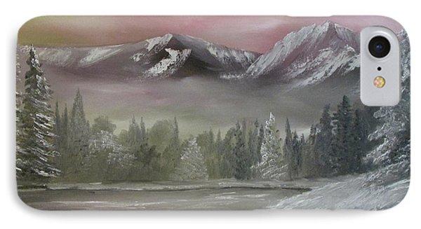 Misty Winter IPhone Case