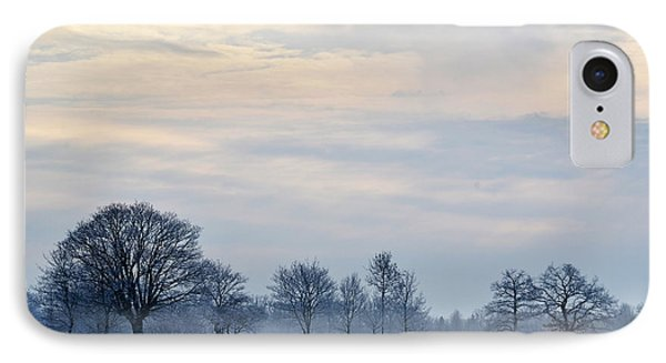 IPhone Case featuring the photograph Misty Winter Day by Kennerth and Birgitta Kullman