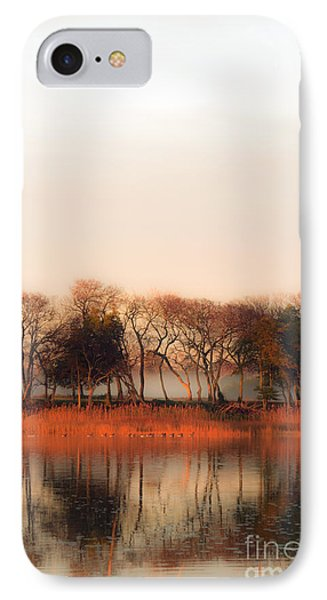 Misty Winter's Morning IPhone Case by Angela DeFrias