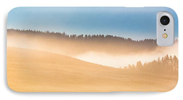 IPhone Case featuring the photograph Misty Yellowstone   by Lars Lentz