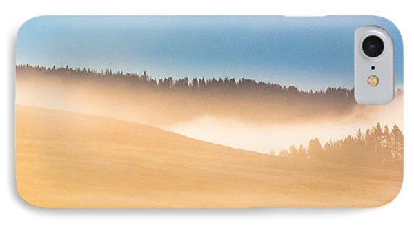 Misty Yellowstone   IPhone Case