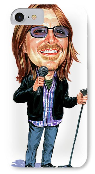 Mitch Hedberg IPhone Case by Art
