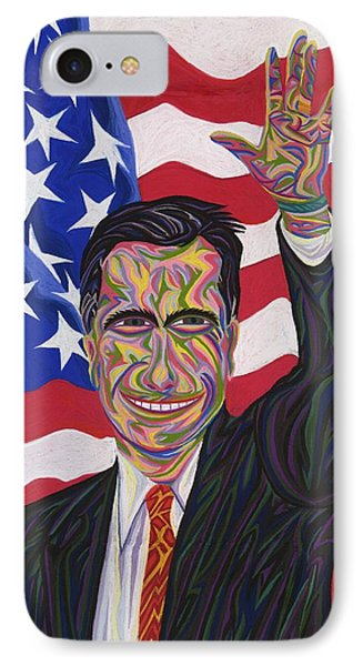 Mitt Romney IPhone Case by Robert SORENSEN