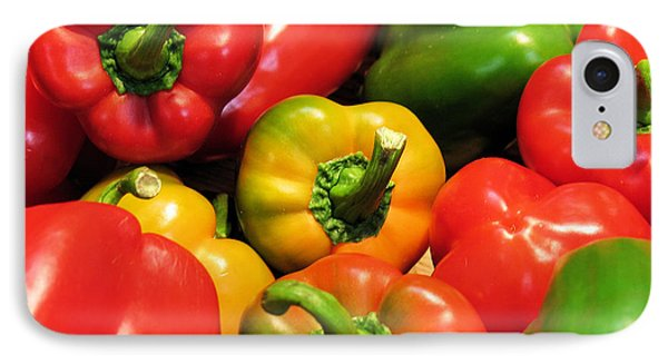 Mixed Bell Peppers IPhone Case