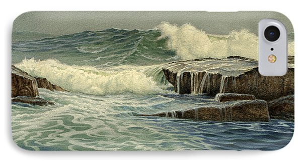 Mixed Media Seascape Phone Case by Paul Krapf