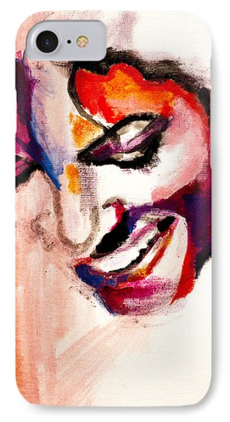 Mj Impression Phone Case by Molly Picklesimer