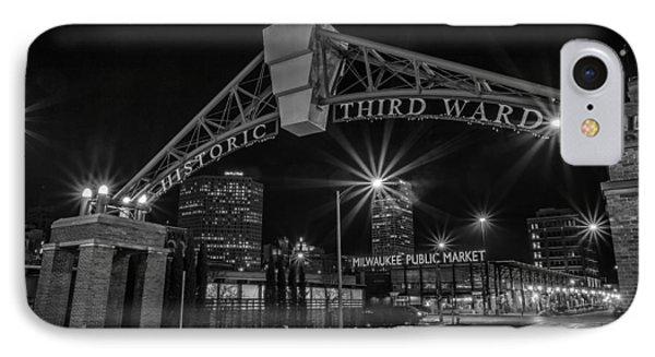 Mke Third Ward IPhone Case by CJ Schmit