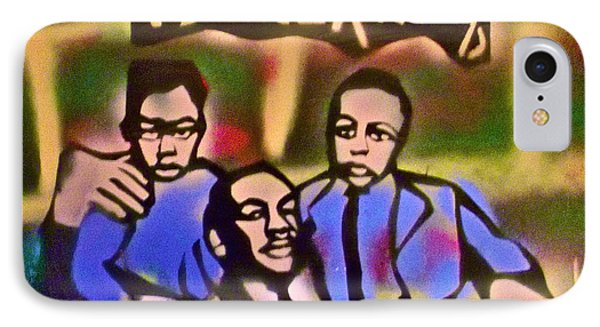 Mlk Fatherhood 2 Phone Case by Tony B Conscious